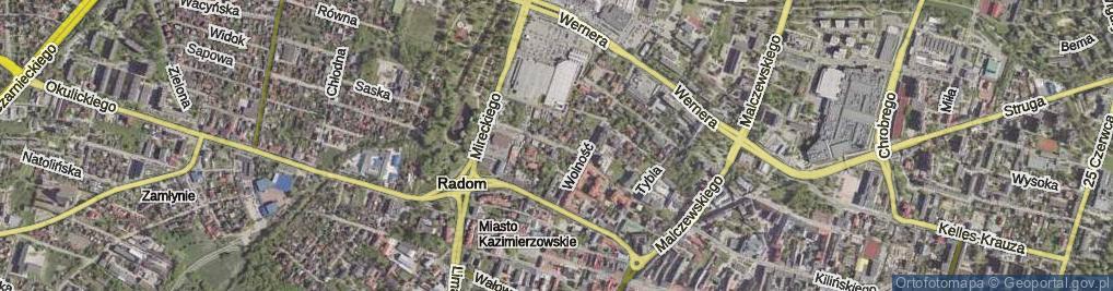 Zdjęcie satelitarne Inżynierska ul.