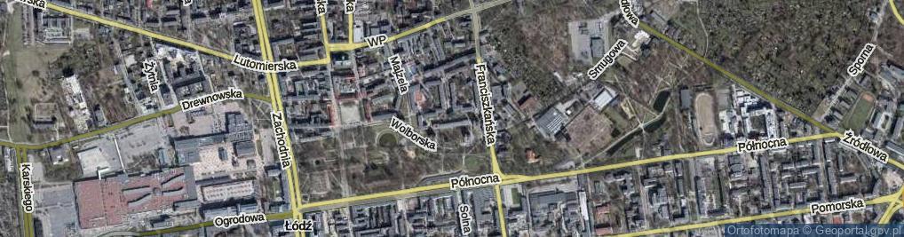 Zdjęcie satelitarne Jakuba ul.