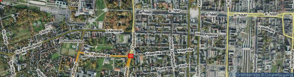 Zdjęcie satelitarne Jaracza ul.
