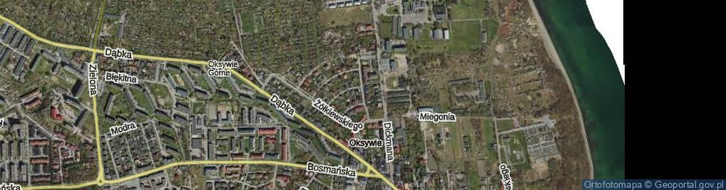 Zdjęcie satelitarne Jana z Tarnowa ul.