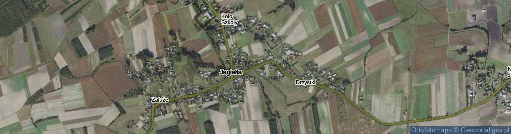 Zdjęcie satelitarne Jagiełła ul.