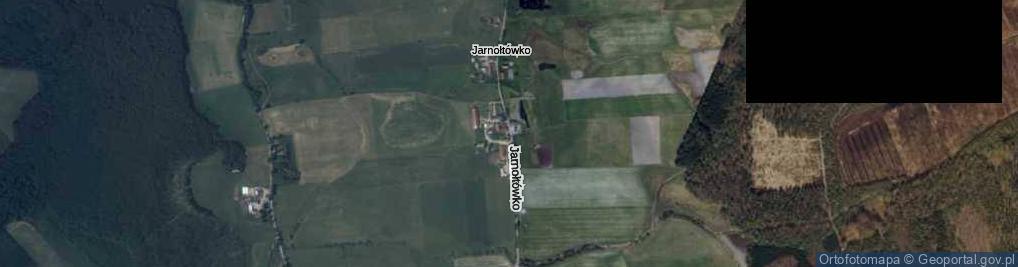 Zdjęcie satelitarne Jarnołtówko ul.
