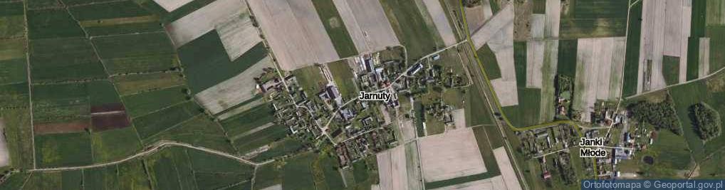 Zdjęcie satelitarne Jarnuty ul.