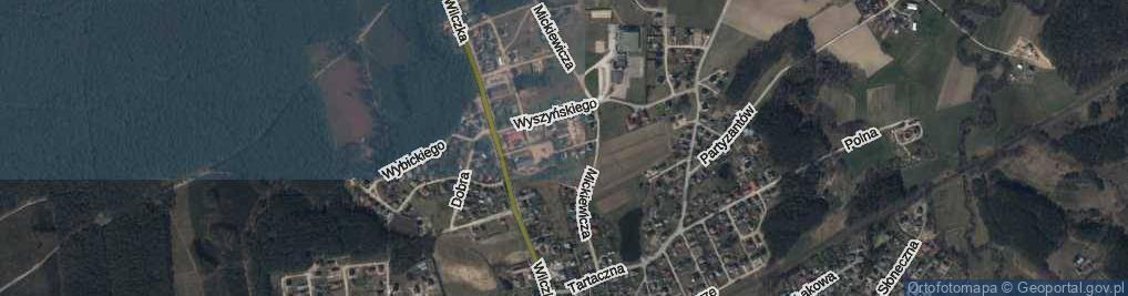 Zdjęcie satelitarne Jastaka, ks. ul.