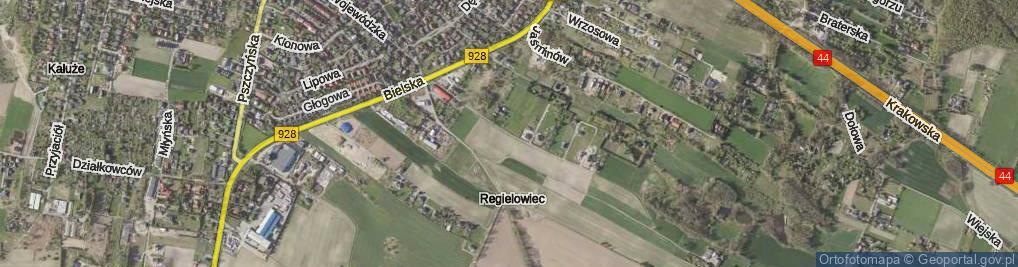 Zdjęcie satelitarne Jaskrów ul.