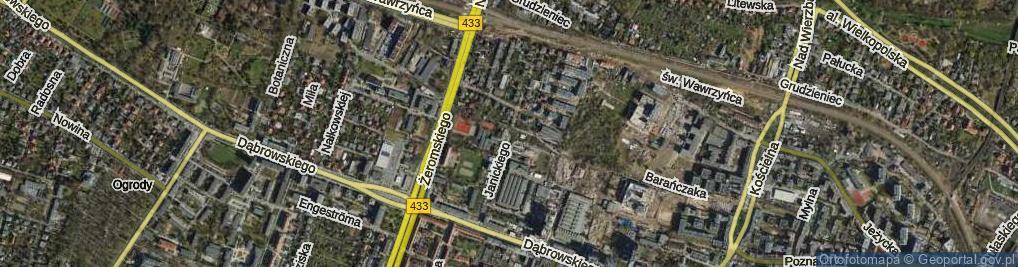 Bardzo dobra Janickiego Klemensa Poznań (Poznań-Jeżyce), Ulica, 60-542 EQ39