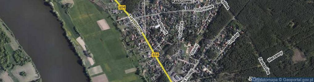 Zdjęcie satelitarne Jasia i Małgosi ul.