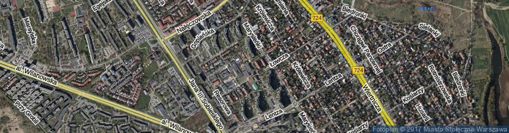 Zdjęcie satelitarne Jabłonowskiego Stanisława Jana ul.