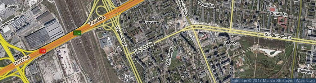 Zdjęcie satelitarne Jarosławska ul.