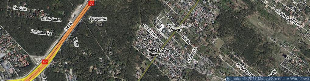 Zdjęcie satelitarne Jasnoty ul.