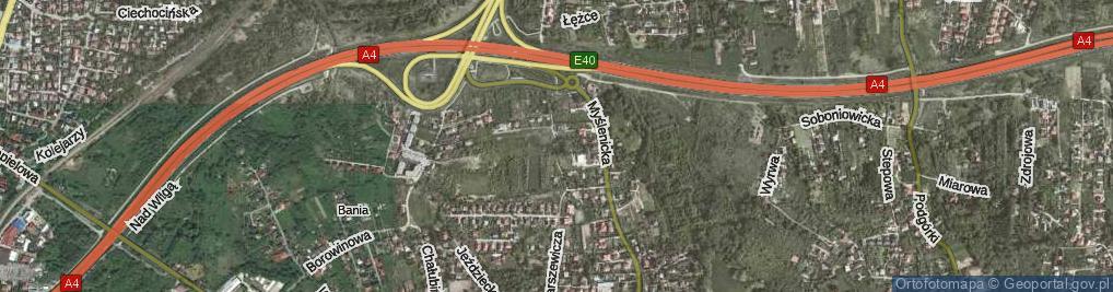 Zdjęcie satelitarne Jelskiego Konstantego ul.