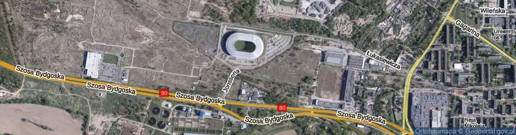 Zdjęcie satelitarne Jonssona Pera ul.