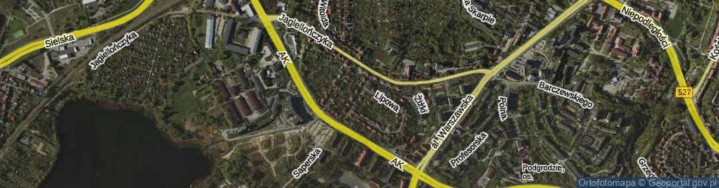 Zdjęcie satelitarne Juranda ze Spychowa ul.