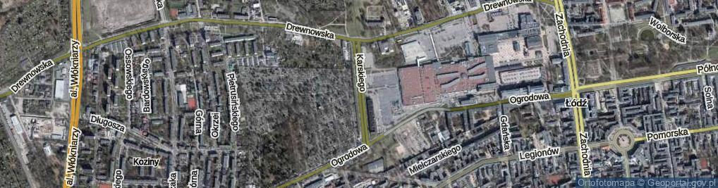Zdjęcie satelitarne Karskiego Jana ul.