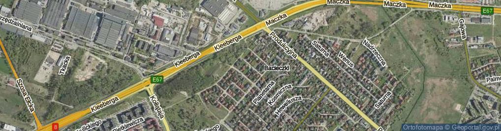 Zdjęcie satelitarne Kazaneckiego Wiesława ul.
