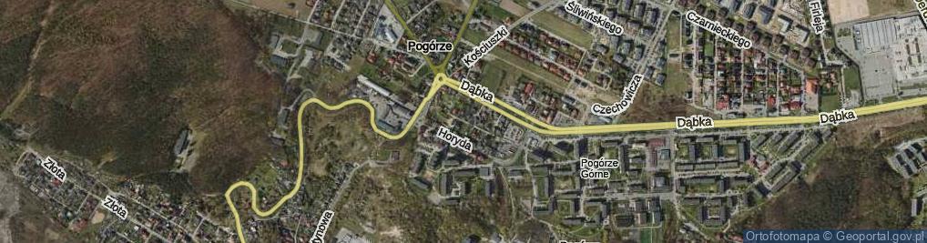 Zdjęcie satelitarne Kasztelana A., kpt. ul.