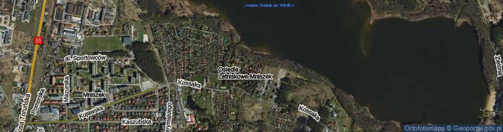 Zdjęcie satelitarne Kantora Tadeusza Marii ul.