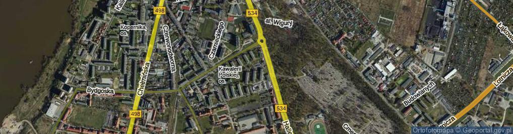 Zdjęcie satelitarne Kasprzyckiego Stefana, gen. ul.