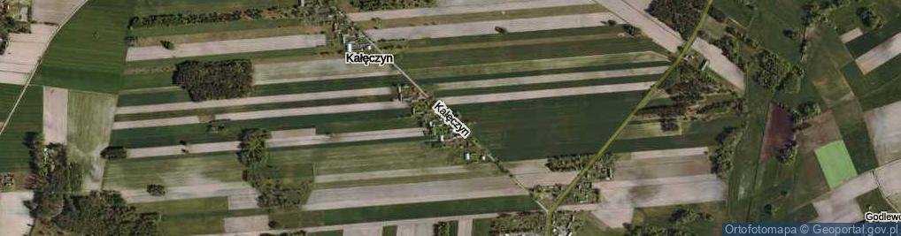Zdjęcie satelitarne Kałęczyn ul.