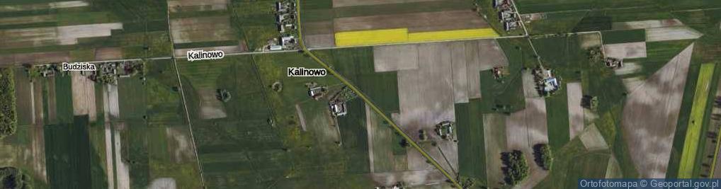 Zdjęcie satelitarne Kalinowo ul.