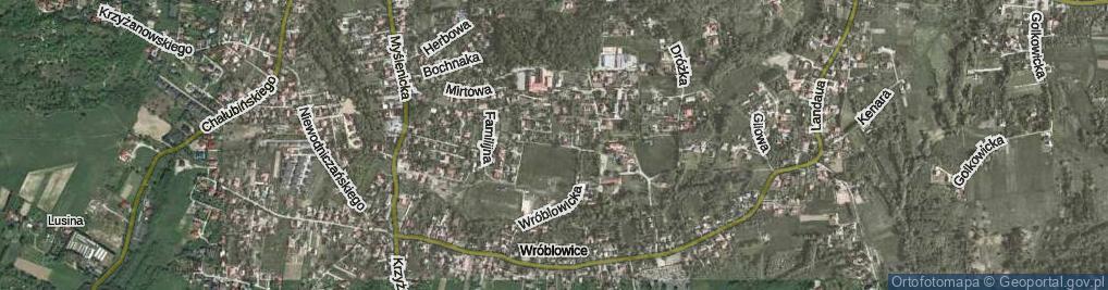 Zdjęcie satelitarne Kajzera Władysława, ks. ul.
