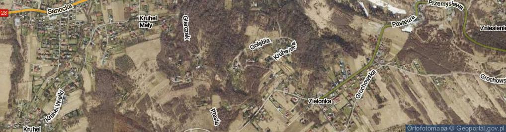 Zdjęcie satelitarne Kaczmarskiego Jacka ul.
