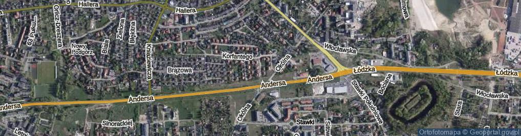 Zdjęcie satelitarne Karnowskiego Jana ul.