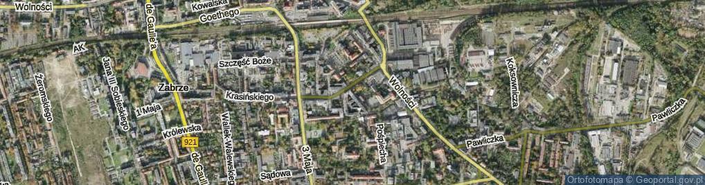 Zdjęcie satelitarne Karłowicza Jana ul.