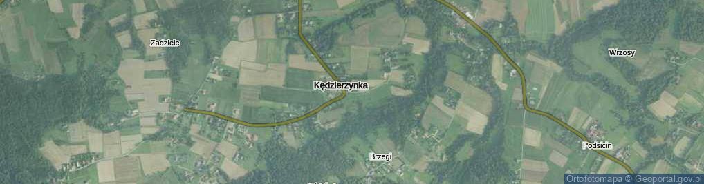 Zdjęcie satelitarne Kędzierzynka ul.
