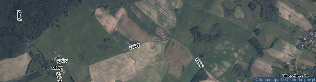Zdjęcie satelitarne Kibisy ul.