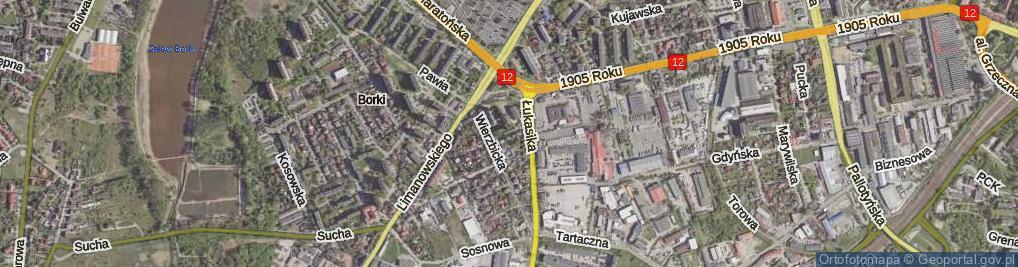 Zdjęcie satelitarne Kijewskiej Bohdany ul.
