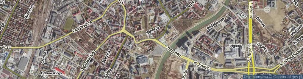 Zdjęcie satelitarne Kilara Wojciecha ul.