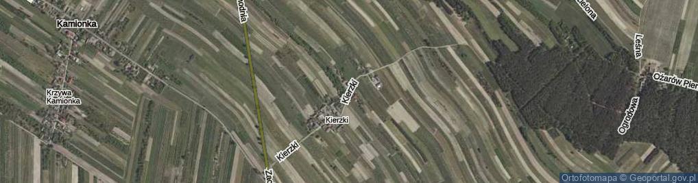 Zdjęcie satelitarne Kierzki ul.