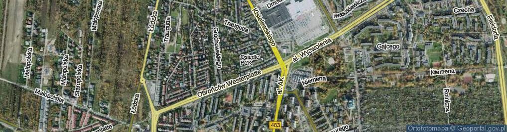 Zdjęcie satelitarne Klemensiewicza Zenona ul.