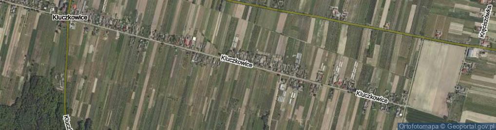 Zdjęcie satelitarne Kluczkowice ul.