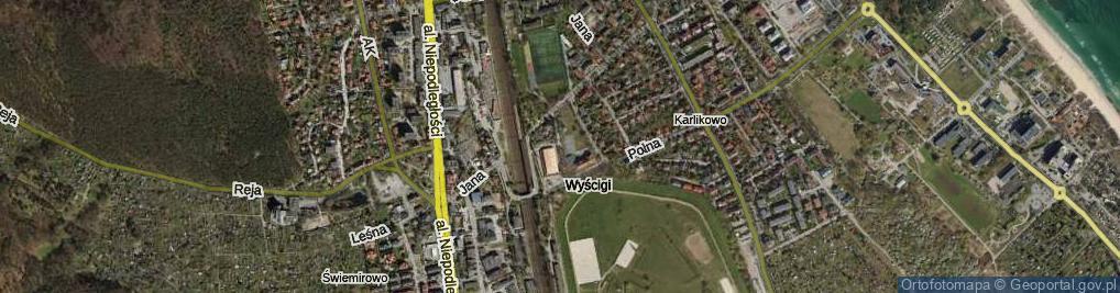 Zdjęcie satelitarne Klenczona Krzysztofa ul.