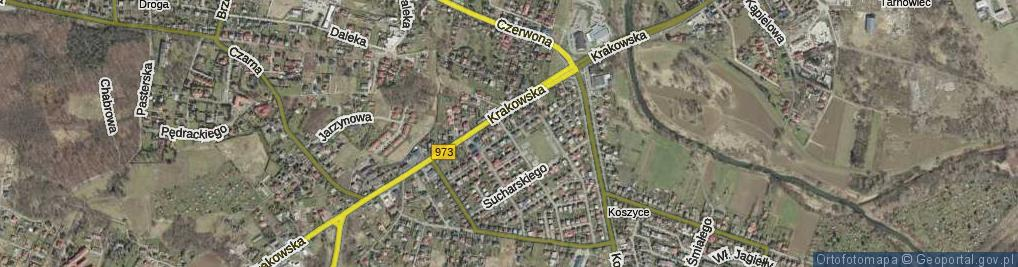 Zdjęcie satelitarne Kleeberga Franciszka ul.