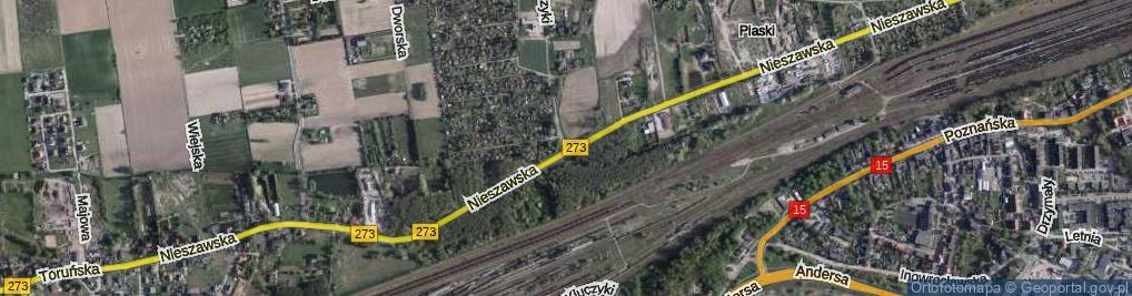 Zdjęcie satelitarne Kluczyki ul.