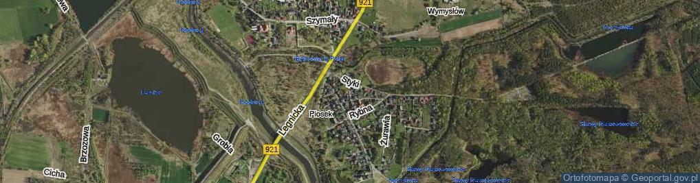 Zdjęcie satelitarne Kłodnicka ul.