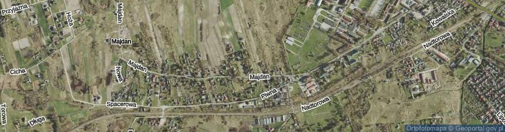 Zdjęcie satelitarne Kmicic-Skrzyńskiego Ludwika, gen. ul.
