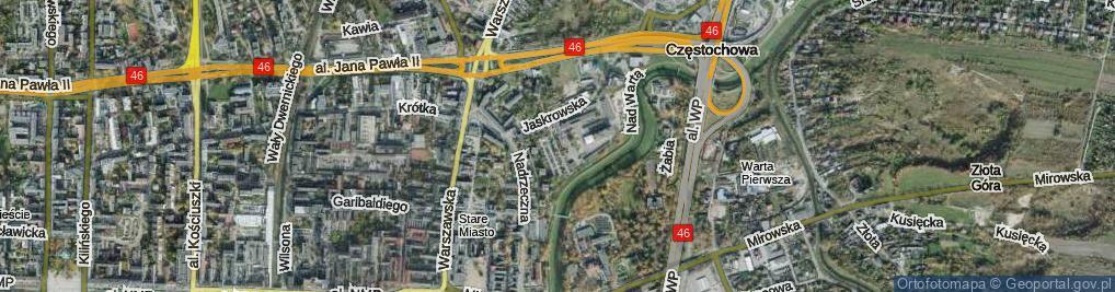 Zdjęcie satelitarne Knauera Kazimierza ul.