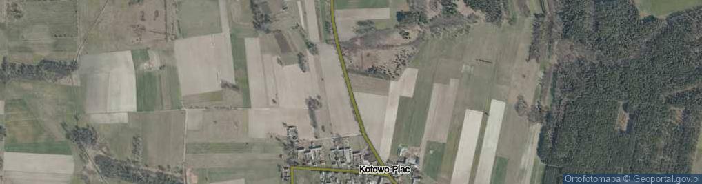 Zdjęcie satelitarne Kotowo-Plac ul.