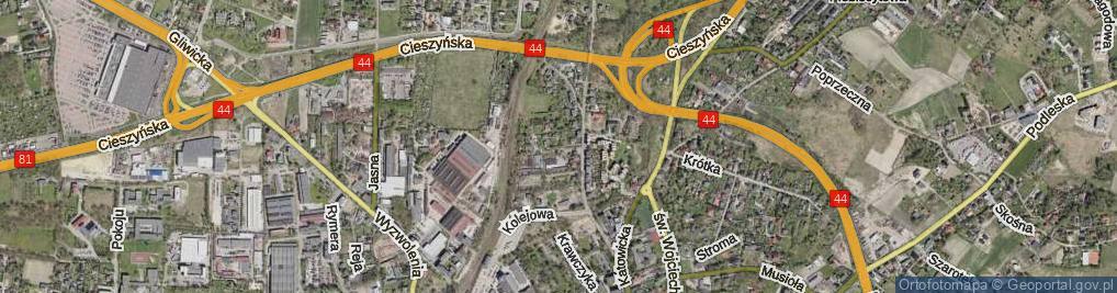 Zdjęcie satelitarne Koja Jana ul.