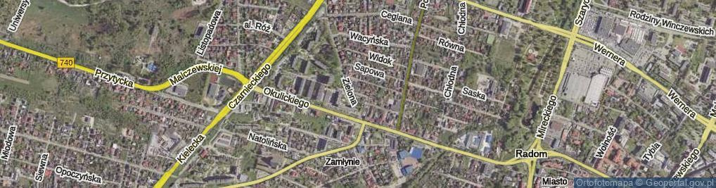 Zdjęcie satelitarne Kołodziejska ul.