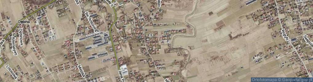 Zdjęcie satelitarne Kownackiej Marii ul.
