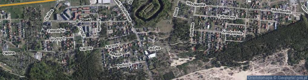 Zdjęcie satelitarne Kosa ul.