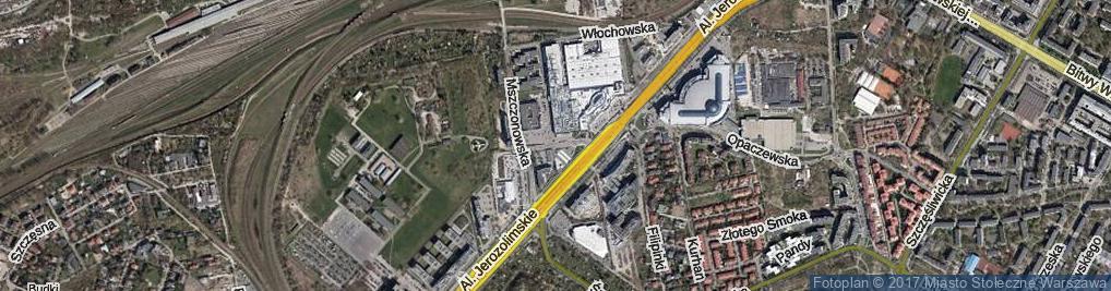 Zdjęcie satelitarne Kołomyjska ul.