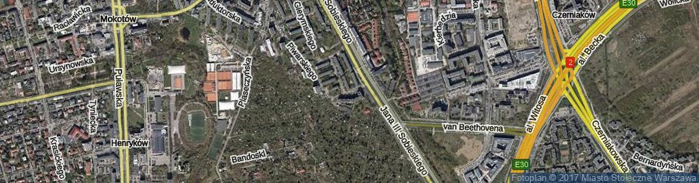 Zdjęcie satelitarne Kostrzewskiego Franciszka ul.