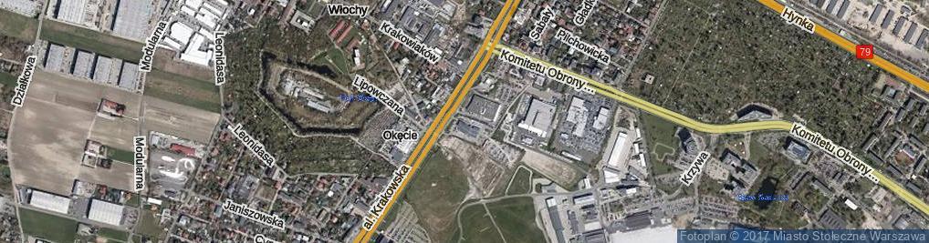 Zdjęcie satelitarne Kotwiczna ul.