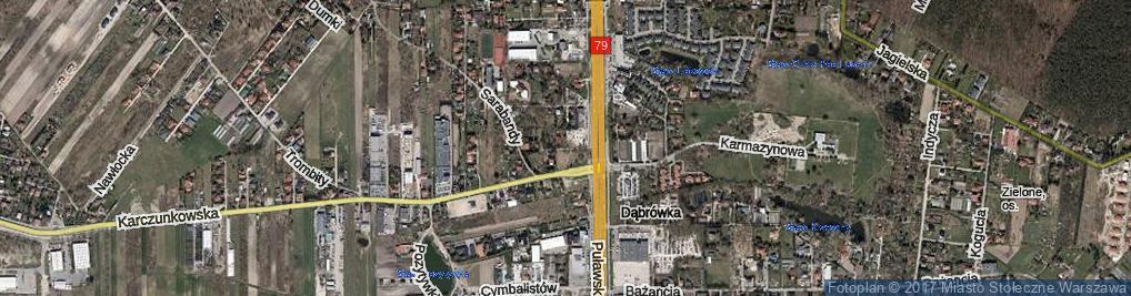 Zdjęcie satelitarne Kolbaczewska ul.